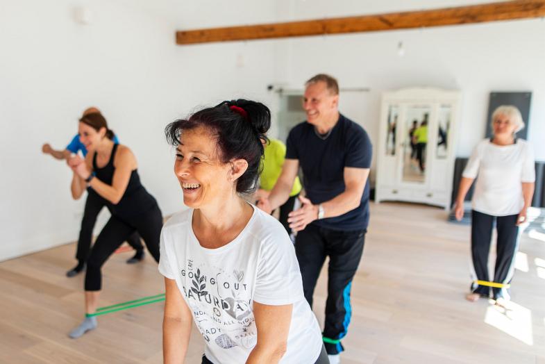 Das funktionelle Rückentraining - Gruppenkurs für Frauen und Männer